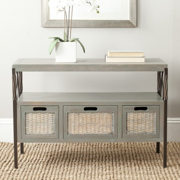 Safavieh Joshua Ash Grey TV Stand