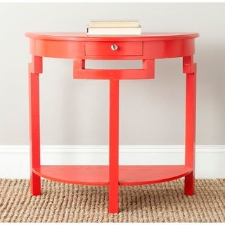 Safavieh Liana Hot Red Console