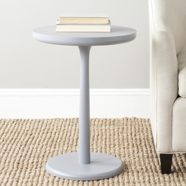Safavieh Luke Pearl Blue Grey Round End Table