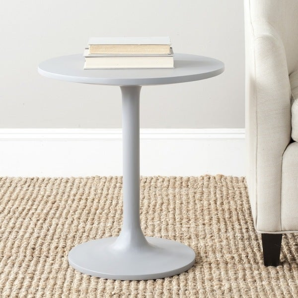 Safavieh Nate Pearl Blue Grey Round End Table