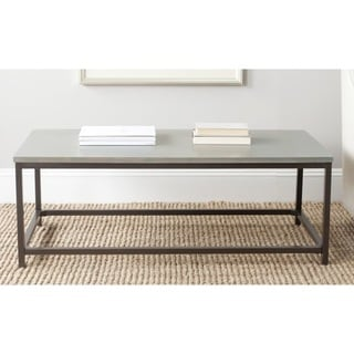 Safavieh Alec Ash Grey Coffee Table