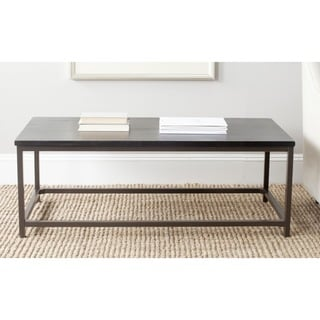 Safavieh Alec Distressed Black Coffee Table