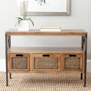 Safavieh Joshua Oak TV Stand