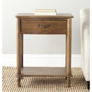 Safavieh Samson Antique Brown End Table
