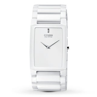 Citizen Men's 'AR3040-56A Eco-Drive' Ceramic Stiletto Blade Watch