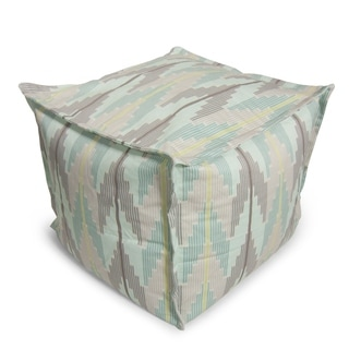BeanSack Muted Chevron Bean Bag Ottoman