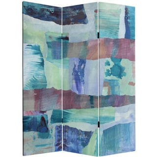 5-foot Tall Ocean Dance Canvas Room Divider