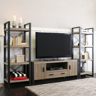 60-inch Urban Blend Grey Entertainment Center