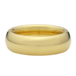 Oro Forte 14k Yellow Gold Silk Fit Band Ring