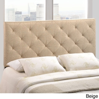 Theodore Queen Linen Tufted Headboard