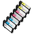 Sophia Global Remanufactured Ink Cartridge Replacement for Lexmark 150XL Set (Pack of 6)