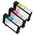Sophia Global Remanufactured Cyan Magenta Yellow Ink Cartridge Replacement for Lexmark 150XL (Pack of 3)