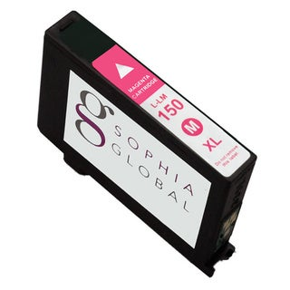 Sophia Global Remanufactured Magenta Ink Cartridge Replacement for Lexmark 150XL