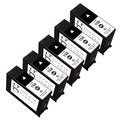 Sophia Global Remanufactured Black Ink Cartridge Replacement for Lexmark 150XL (Pack of 5)