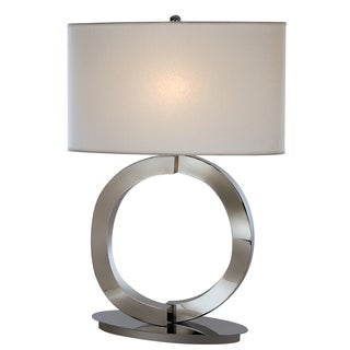 Infinity White Table Lamp