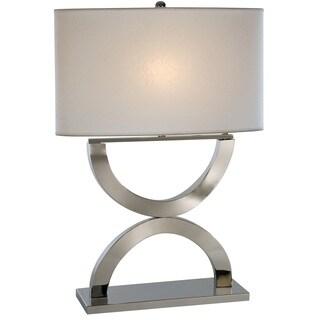 Echo White Table Lamp