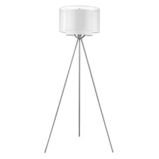 Brella Nickel Floor Lamp