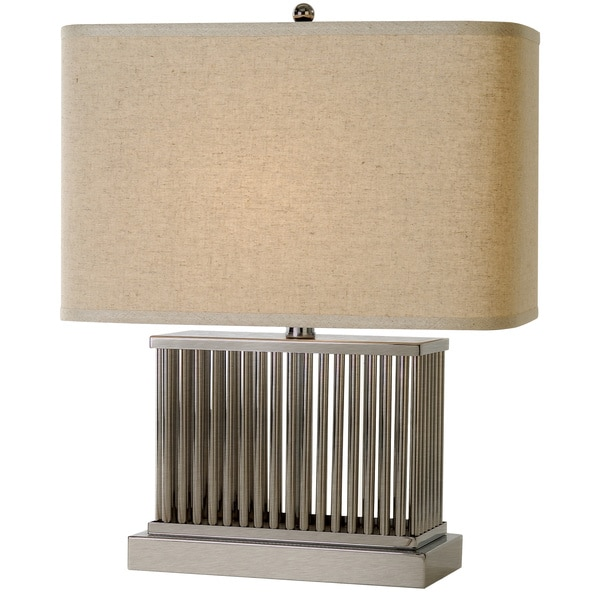 Escape Nickel Table Lamp