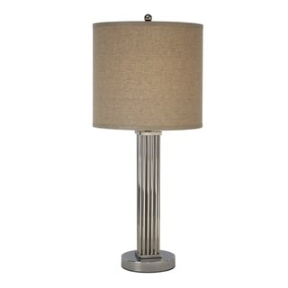 Escape Polished Stainless Steel Table Lamp