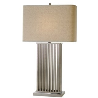 Escape Nickel Modern Table Lamp