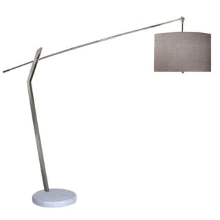 Chelsea Chrome Arc Floor Lamp