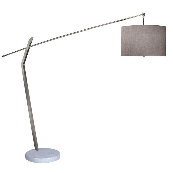 Chelsea Chrome Arc Floor Lamp