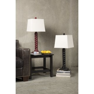 Standout Swirl Lamp