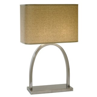 Dusk Brushed Nickel Table Lamp