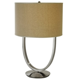 Dawn Brushed Nickel Table Lamp