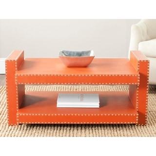 Safavieh Garson Orange Coffee Table