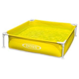 Intex Yellow Mini Frame Pool