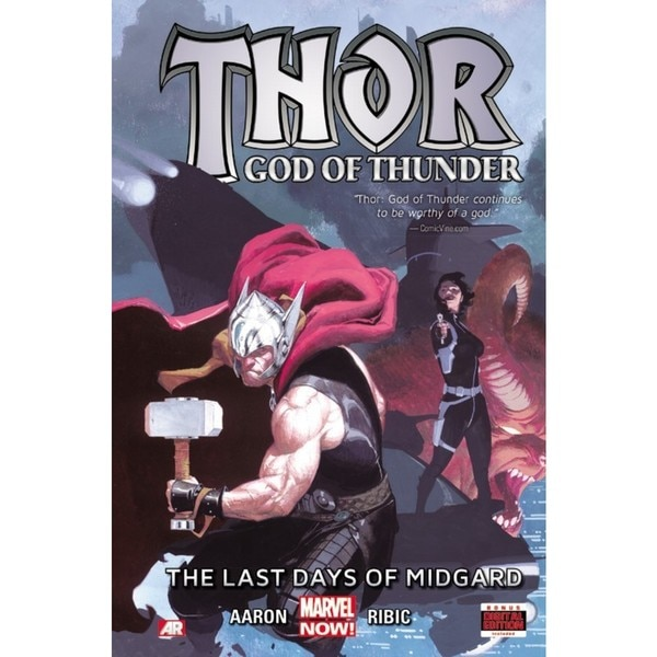 Thor God of Thunder 4: The Last Days of Midgard (Hardcover) 12257971