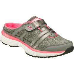 Women's Skechers Agility Perfect Look Gray/Pink