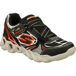 Boys' Skechers Air-Mazing Kid Ory Metrickz Black/Silver