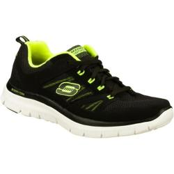 Men's Skechers Flex Advantage Black/Green