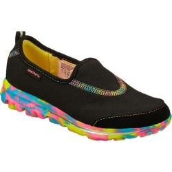 Girls' Skechers GOwalk Wavelength Black/Multi