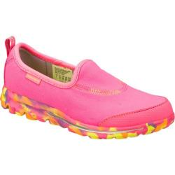 Girls' Skechers GOwalk Wavelength Pink/Multi