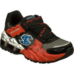 Boys' Skechers Mega Flex Cerium Black/Red