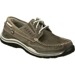 Men's Skechers Relaxed Fit Expected Gembel Gray/Gray