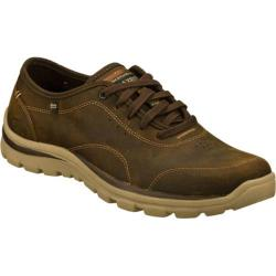 Men's Skechers Relaxed Fit Superior Harvin Brown