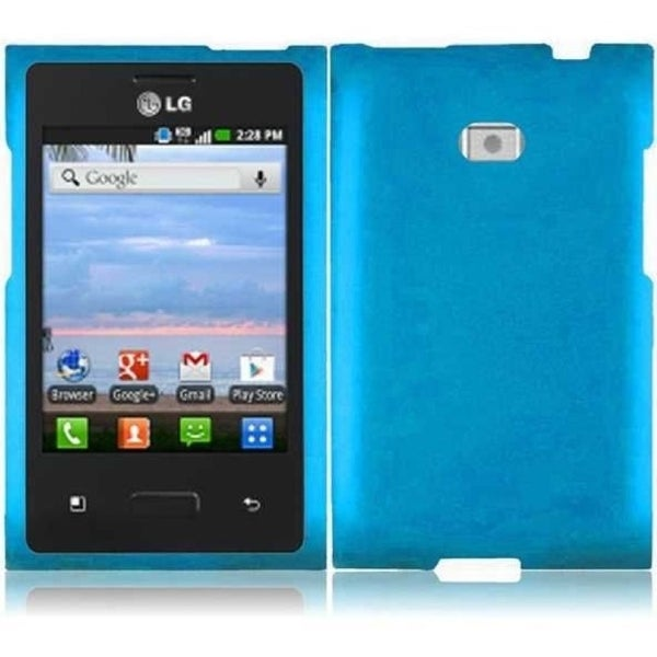 INSTEN Phone Case Cover for LG Optimus Logic L35G/ Dynamic L38C/ Optimus L3 E400