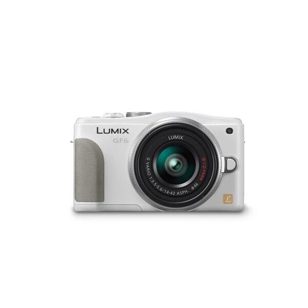 Panasonic Lumix DMC-GF6 Mirrorless Micro 4/3 Camera 14-42mm II Lens