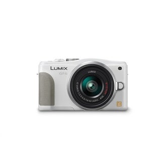Panasonic Lumix DMC-GF6 Mirrorless Micro 4/3 Camera 14-42mm II Lens