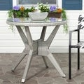 Safavieh Langer Round Grey Accent Table