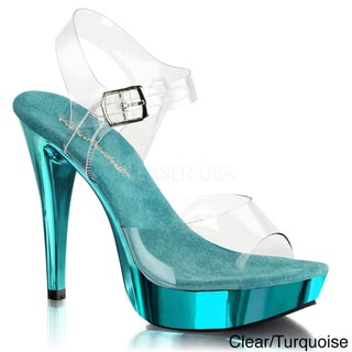 Fabulicious Women's 'Cocktail-508' Ankle Strap Stiletto Heels