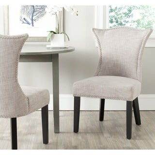 Safavieh Ciara Grey Side Chair (Set of 2)
