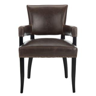 Safavieh Desa Antique Brown Arm Chair