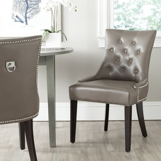 "Safavieh Dining Harlow Clay Ring Chair (Set of 2) - 22"" x 25.6"" x 36.4"""