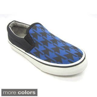 Blue Kids 'B-Argo' Canvas Sneakers