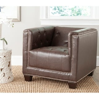 Safavieh Bentley Antique Brown Chair